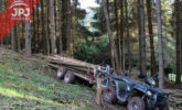Wózek ATV Drwal