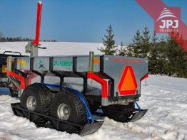 Zestaw nart – Wózek ATV Robotnik