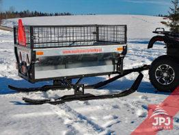 Zestaw nart - Wózek ATV Ogrodnik