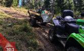 Wózek ATV Ogrodnik