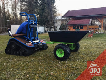 Przyczepa JOBER do quadów i traktorów ogrodowych