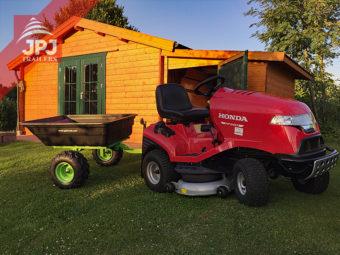 Traktor ogrodowy i przyczepa JOBER