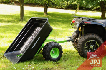 Przyczepy ATV z plastikowym nadwoziem