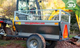 Trailer Farmer do pojazdów ATV i małych traktorów
