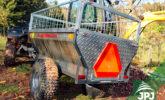JPJ Forest ATV i małe przyczepy ciągnikowe