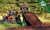 Przyczepa wywrotka Mały Ogrodnik do pojazdów ATV i traktorów ogrodniczych
